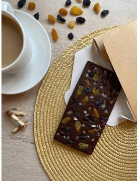 Шоколадная плитка Ягодное ассорти