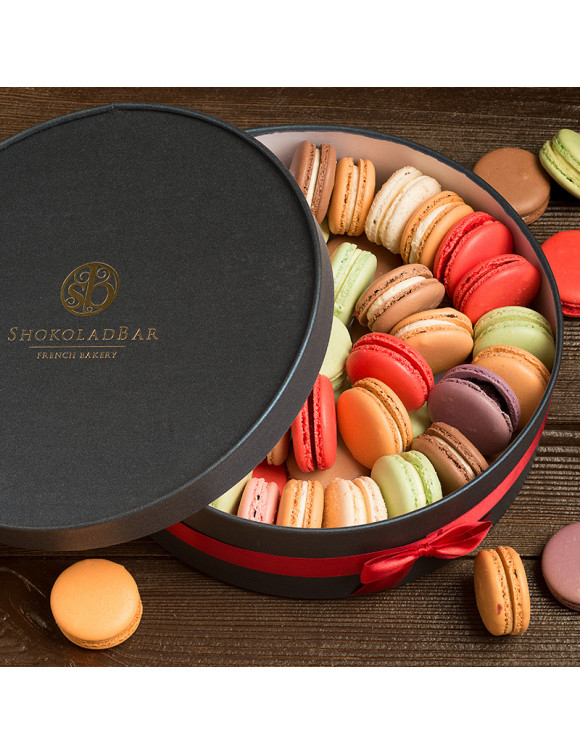 Grand Blue Macarons